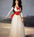 Goya de Francisco Jose The dutchess of Alba Sun