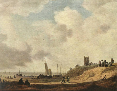 Goyen Jan van Seashore at Scheveningen