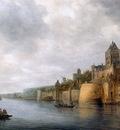 Goyen van Jan View on castle Valkenhof Sun
