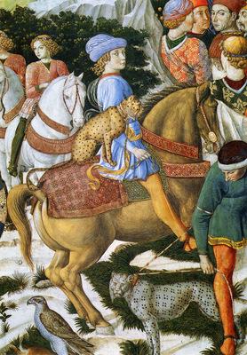 Gozzoli Benozzo di Lese di Portrait Of Giuliano De Medici