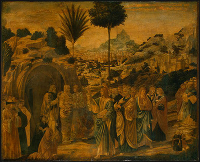 Gozzoli The Raising of Lazarus, probably 1497, 65 5x80 5 cm,