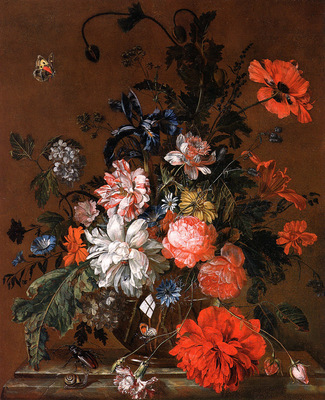 Grasdorp Willem Flower still life Sun