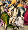 El Greco The Holy Trinity, 1577, 300x179 cm, Prado