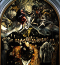 El Greco The burial of Count Orgaz