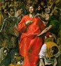 El Greco The spoliation, 1577 1579, 185x173 cm, Sacristy of