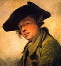 A Young Man in a Hat CGF