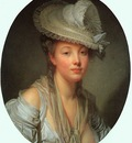 Young Woman in a White Hat CGF