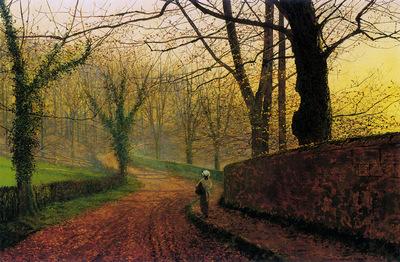 Grimshaw John Stapleton Park near Pontefract Sun
