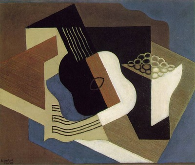 Gris Guitar and fruit dish, 1919, 60x73 cm, Jerome H  Stone
