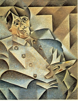 Gris Portrait of Picasso, 1912, 93 4x74 3 cm, The Art Instit