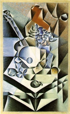 Gris Still life with flowers, 1912, 112 1 x 70 2 cm, Moma NY