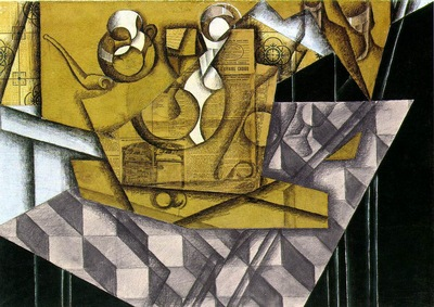 Gris Teacups, 1914, 65x92 cm, Kunstsammlung Nordrhein Westfa