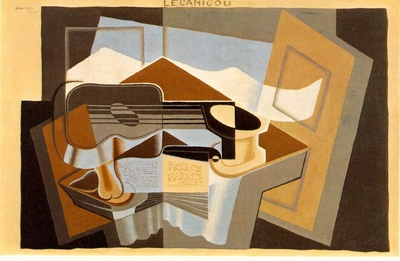 Gris The mountain Le Canigou, 1921, 65x100 cm, Albright Kn