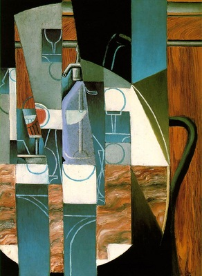 Gris The siphon, 1913, 81x65 cm, Rose Art Museum, Brandeis U