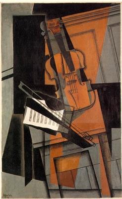 Gris The violin, 1916, 116 5 x 73 cm, Kunstmuseum Basel