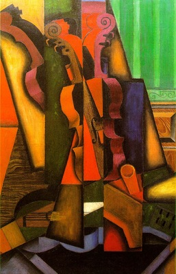 Gris Violin and guitar, 1913, 100x65 5 cm, The Colin Collect