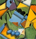 Gris Landscape with house at Ceret, 1913, 100x65 cm, Galeria