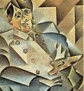 Gris Portrait of Picasso, 1912, 93 4x74 3 cm, The Art Instit