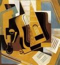 Gris The guitar, 1918, 81x59 5 cm, Telefonica de Espana, S A