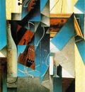 gris violin engraving