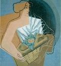 gris woman basket