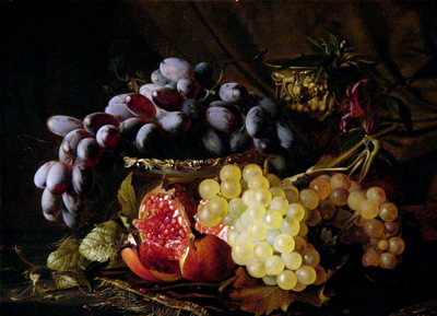 Gronland Theude Still life with fruit Sun