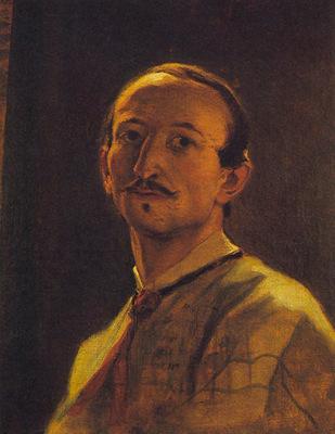 am Artur Grottger Autoportret