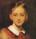 am Artur Grottger Portret dziewczynki