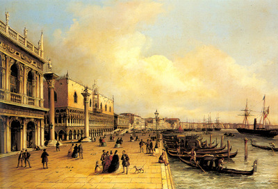 Grubacs Carlo A View Of The Doges Palace