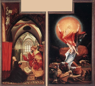 Annunciation and Resurrection WGA