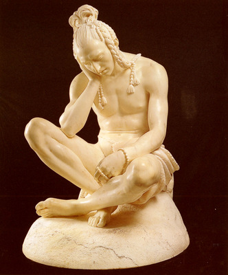 Gruyere Theodore Charles Seated Indian