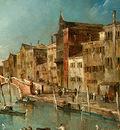 guardi view on the cannaregio canal, venice, c  1775 1780,
