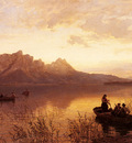 Gude Hans Fredrik Drachenwand On The Mondsee