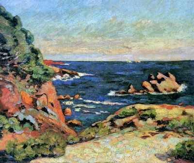 Guillaumin Armand View on Agay