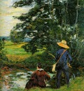 Guillaumin Armand The fishermen Sun