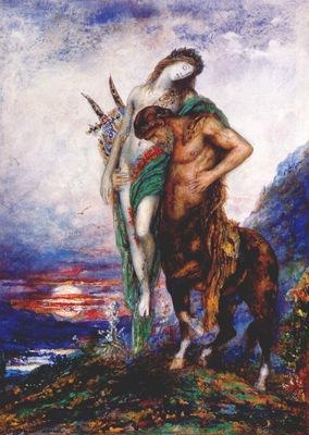 moreau dead poet borne by a centaur c1890