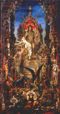 moreau jupiter and semele 1889