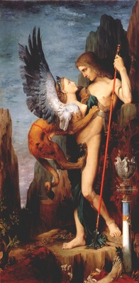 moreau oedipus and the sphinx