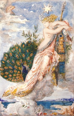 moreau the peacock complaining to juno 1881