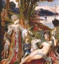 moreau the unicorns 1887