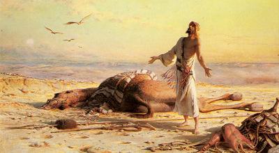 Haag Carl Shipwreck In The Desert