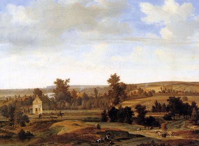 Haagen van der Joris Panorama near Arnhem Sun