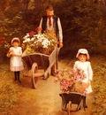 Hayllar Mary Helping Gardener