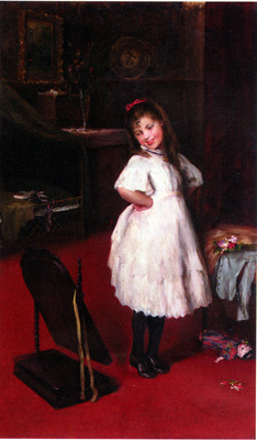 Arthur Lajos Halmi The Party Dress
