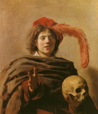 hals frans boy with a skull c1626