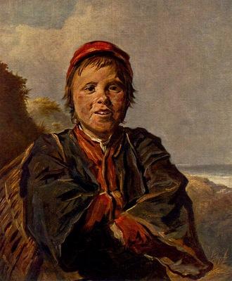 Hals The Boy Bringing Brush Wood, Museum Antwerpen