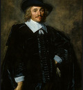 HALS PORTRAIT OF A GENTLEMAN, 1650 1652, NGW