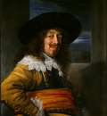 hals portrait of a member of the haarlem civic guard, c