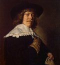 hals,f  portrait of a young man holding a glove, ca 1650,
