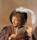 Hals Frans Boy with flute